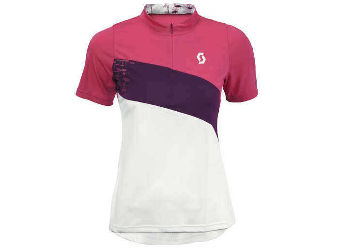 Scott Ws Shirt Sky Graphic raspberry pink/white L