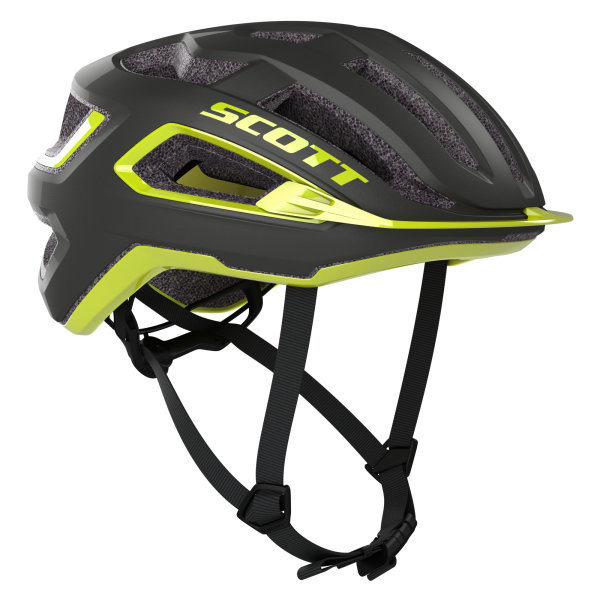 Scott ARX Plus dark grey/radium yellow