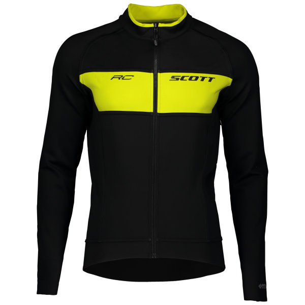 Scott RC Warm Reversible WB Jacket black/sulphur yellow