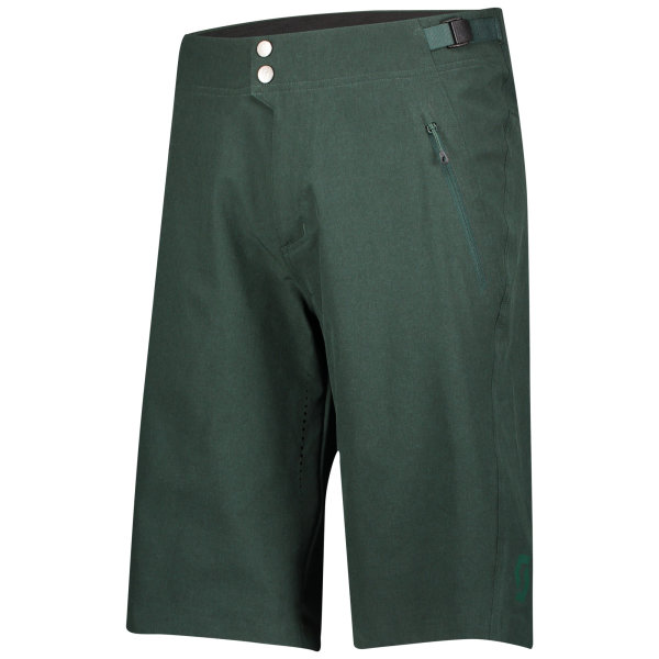 Scott Shorts Trail Flow Pro Shorts mit Polster smoked green
